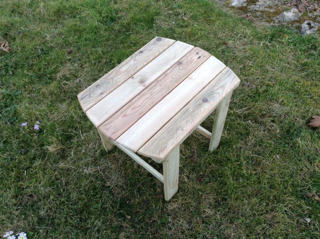 Table de jardin par Ledav sur L\'Air du Bois