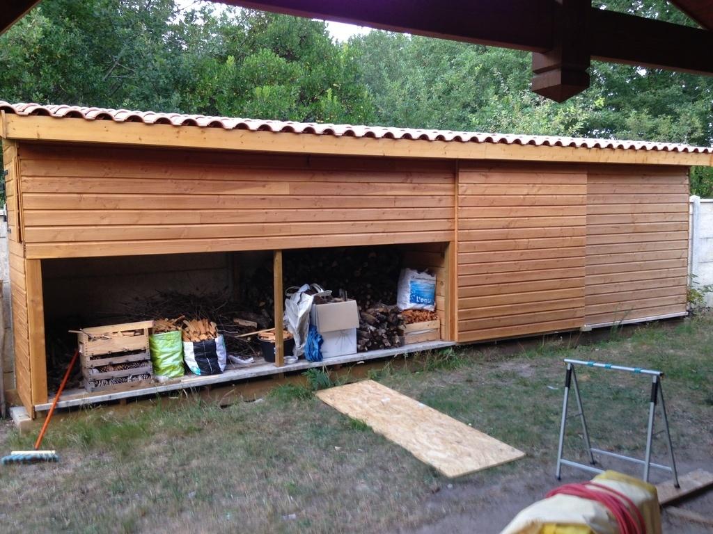 abri de jardin avec plancher
