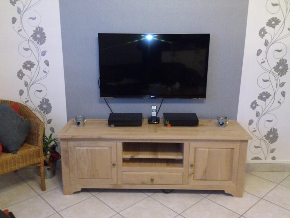 Meuble tv par pimpon sur l 39 air du bois for Meuble tv bel air 2