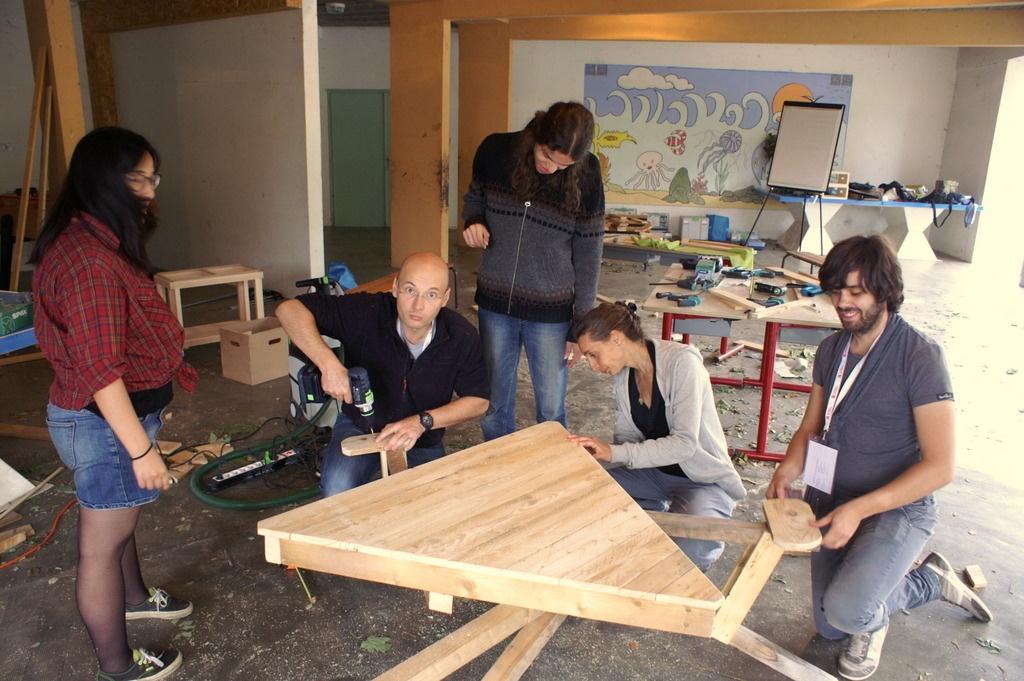 fauteuil jardin en bois