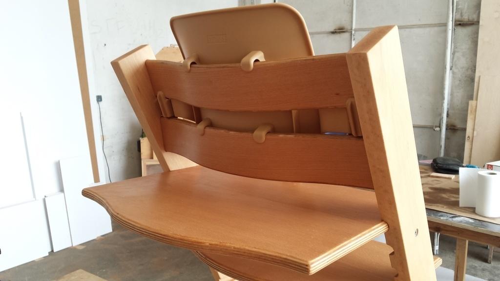 Chaise pour b b d 39 inspiration norv gienne par fran ois for Chaise norvegienne