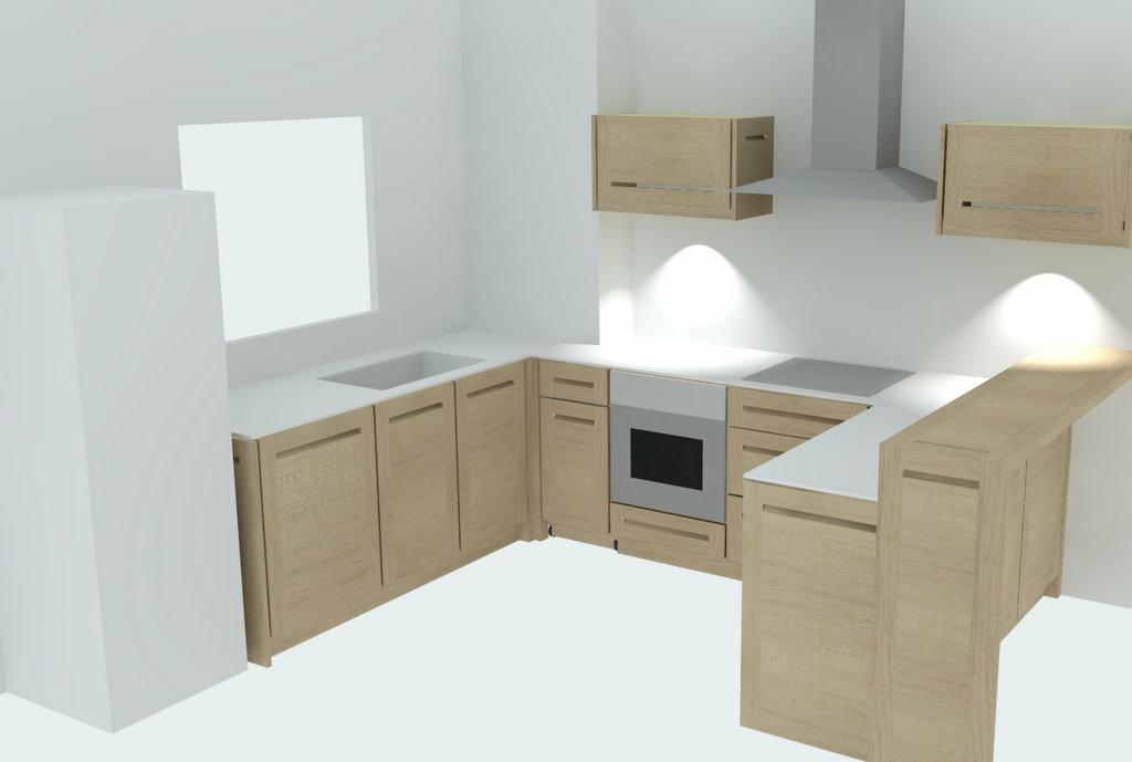 pas pas fabrication d 39 une cuisine contemporaine ch ne et stratifi compact par zeloko sur l. Black Bedroom Furniture Sets. Home Design Ideas