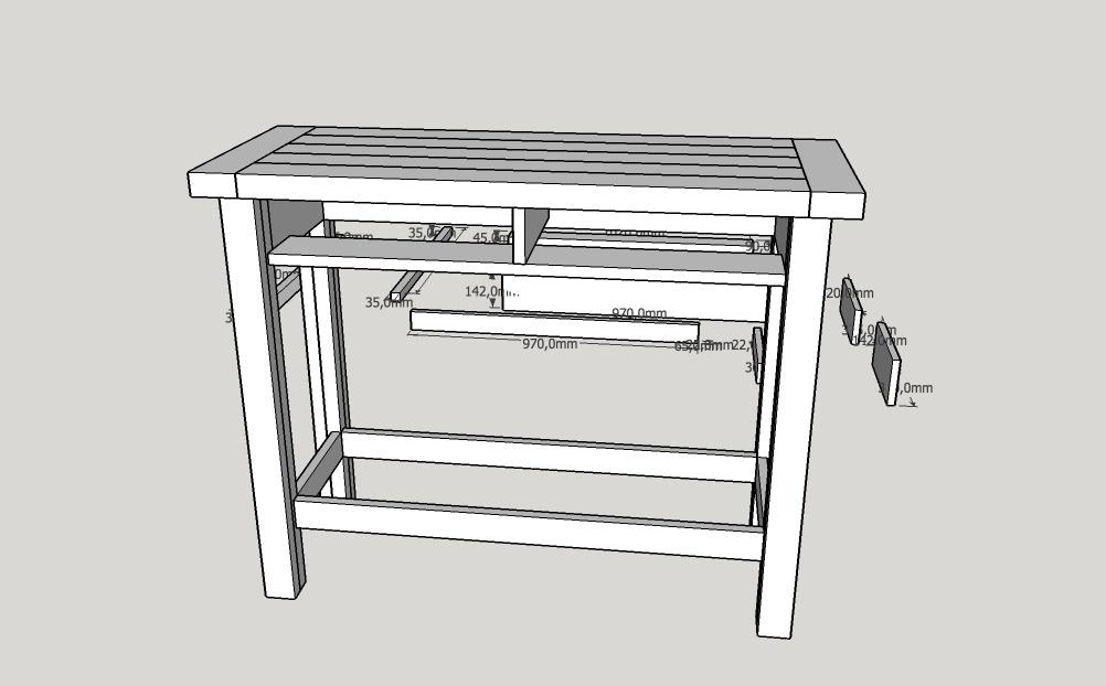 plan etabli de bricolage par gypsydoc sur l 39 air du bois. Black Bedroom Furniture Sets. Home Design Ideas