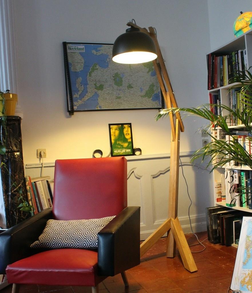 Du Par Sur Bois Ateliera L'air Lampe Giraf mwn0N8