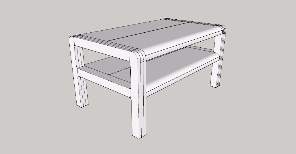plan plan table radus like par meles sur l 39 air du bois. Black Bedroom Furniture Sets. Home Design Ideas