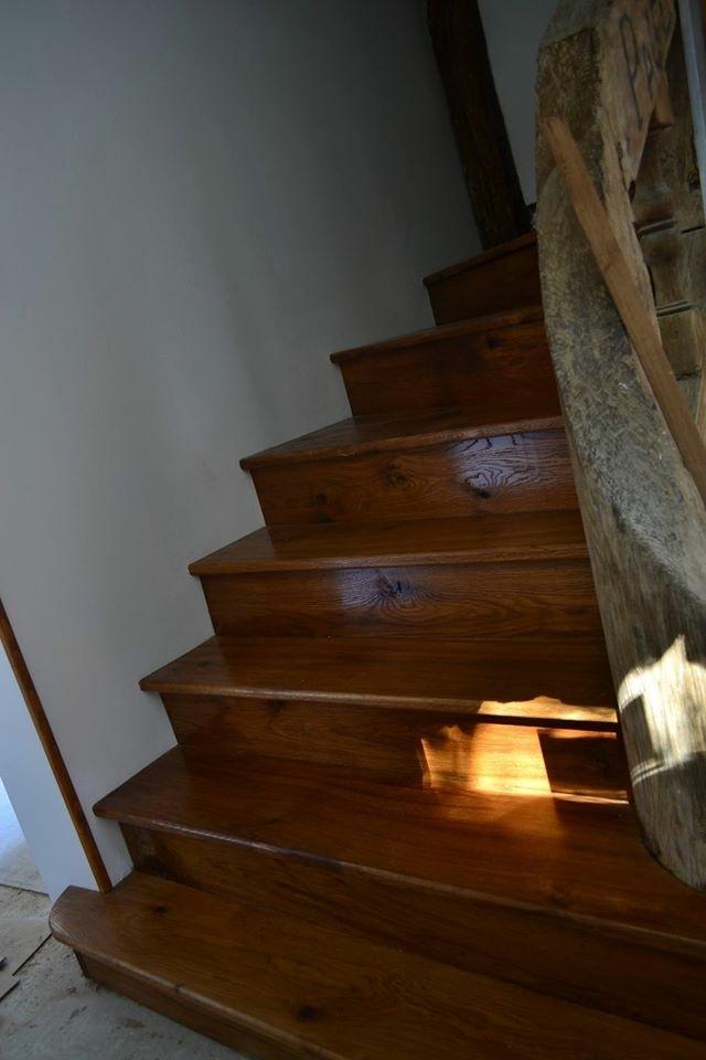 R Novation Escalier Par Ch Nedinspiration Sur L 39 Air Du Bois