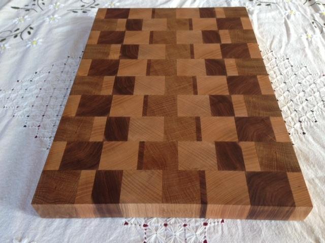 grande planche d couper en bois de bout par pierre marna sur l 39 air du bois. Black Bedroom Furniture Sets. Home Design Ideas