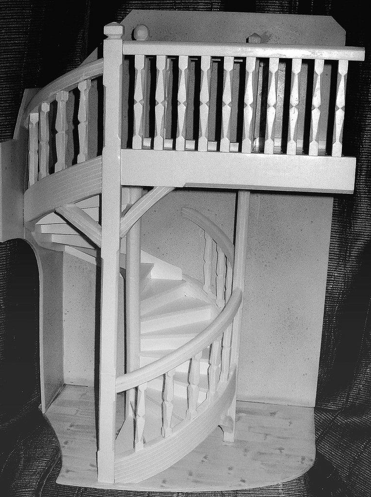 echelle d escalier simple retour luarticle ides duescaliers pour votre loft escalier chelle. Black Bedroom Furniture Sets. Home Design Ideas