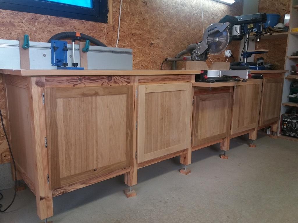Meuble d 39 atelier par camema sur l 39 air du bois for Atelier du meuble
