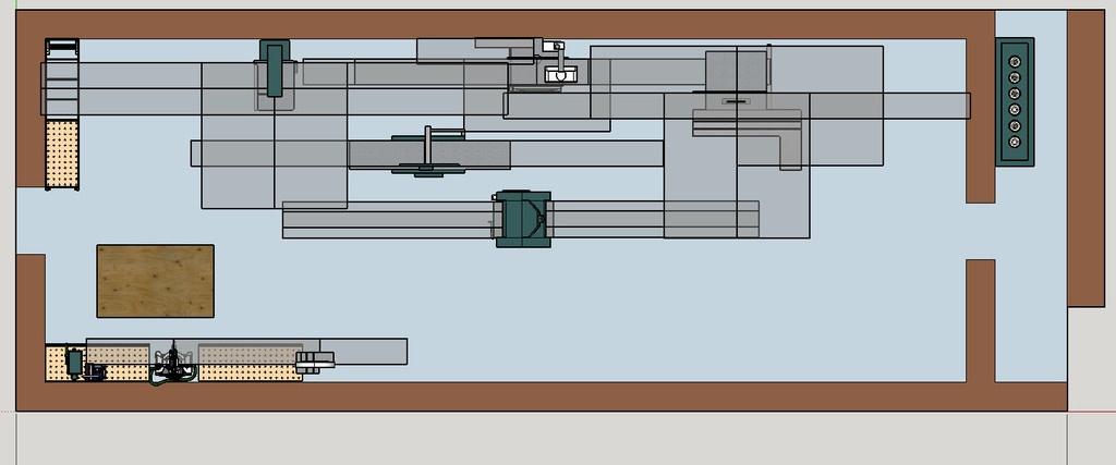 plan agencement de mon futur atelier bois par guilhem sur l 39 air du bois. Black Bedroom Furniture Sets. Home Design Ideas