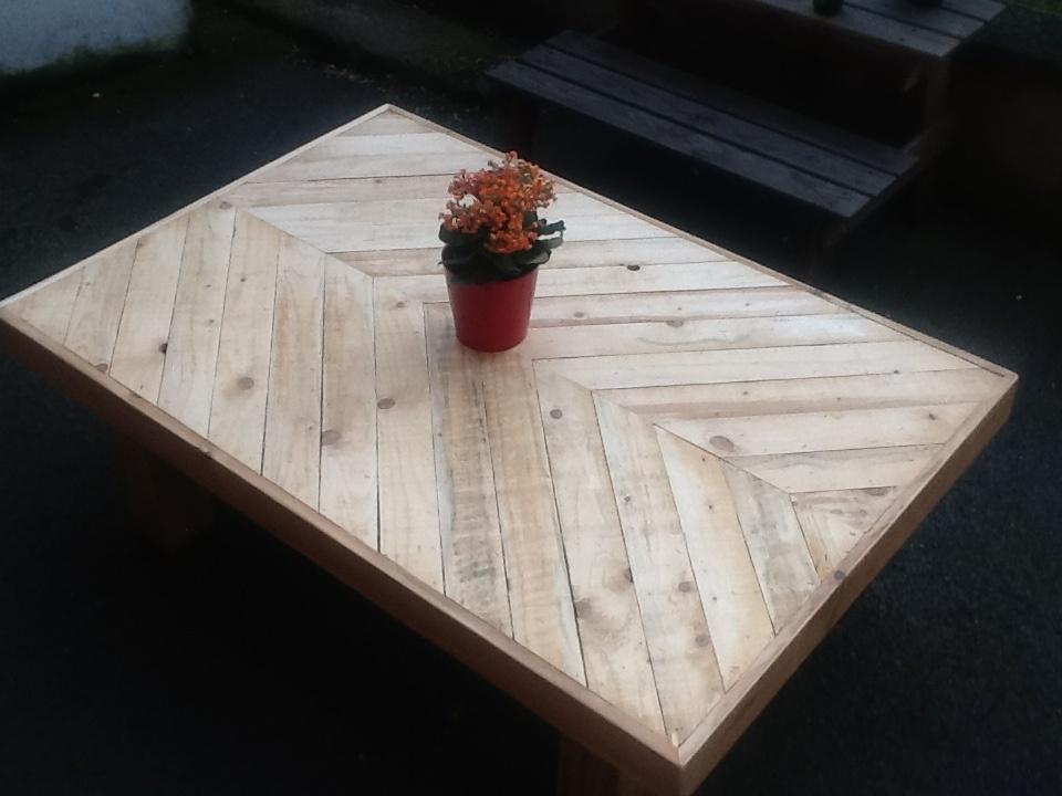 salon de jardin 1ere partie la table basse par. Black Bedroom Furniture Sets. Home Design Ideas