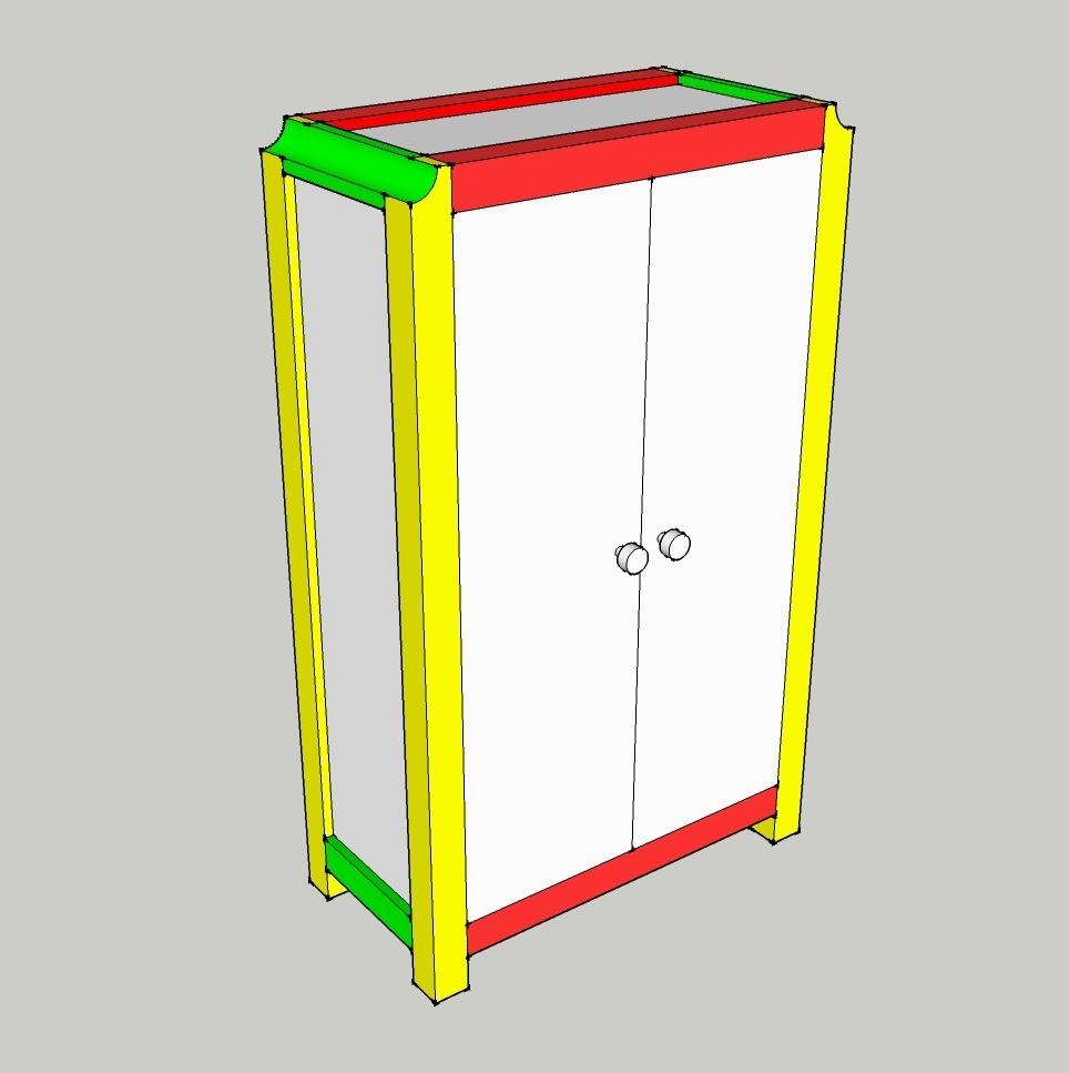 Bedroom Armoire Woodworking Plan