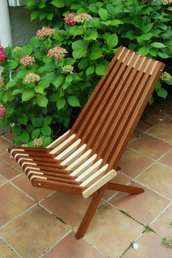Chaise pliante Kentucky par ebenober sur L'Air du Bois