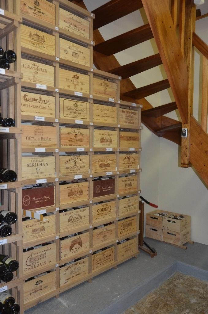 Plan plans du casier bouteilles et caisses de vins par airpopcie sur l 3 - Fabriquer casier bouteille bois ...