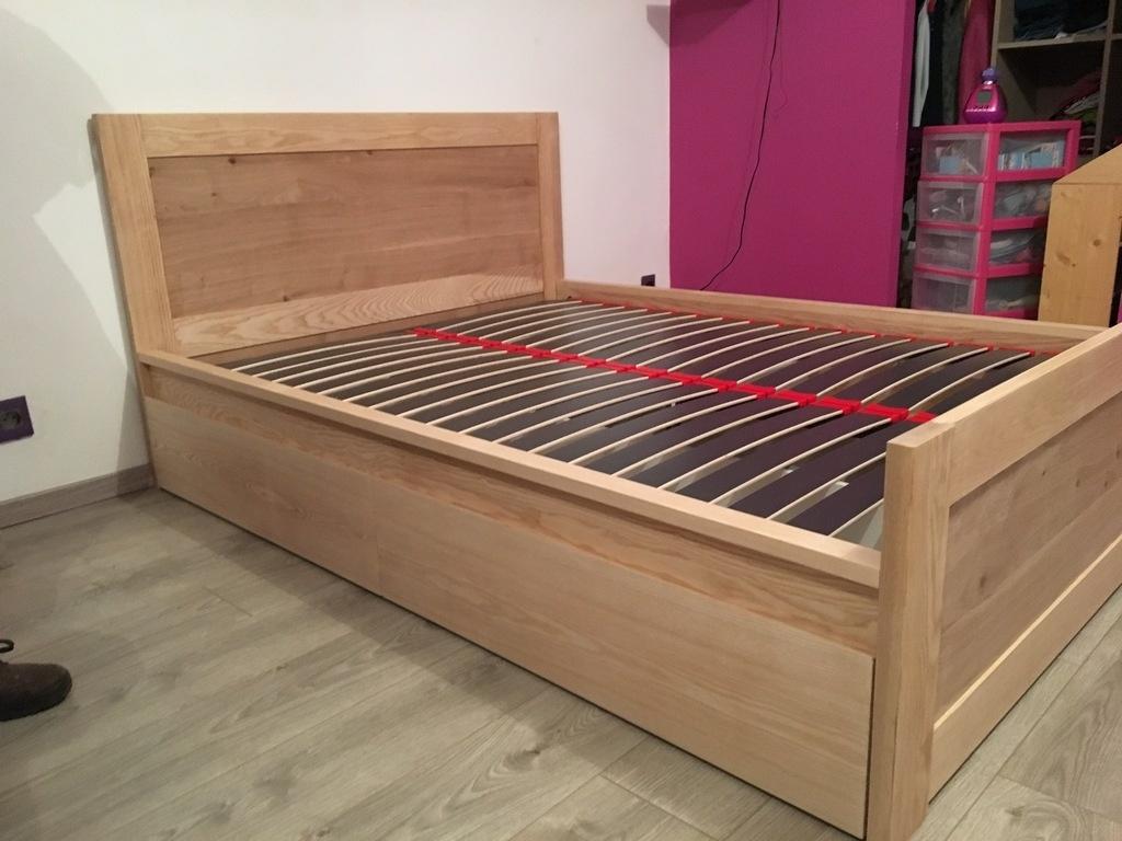 grand lit pour ado par woodworker710 sur l 39 air du bois. Black Bedroom Furniture Sets. Home Design Ideas