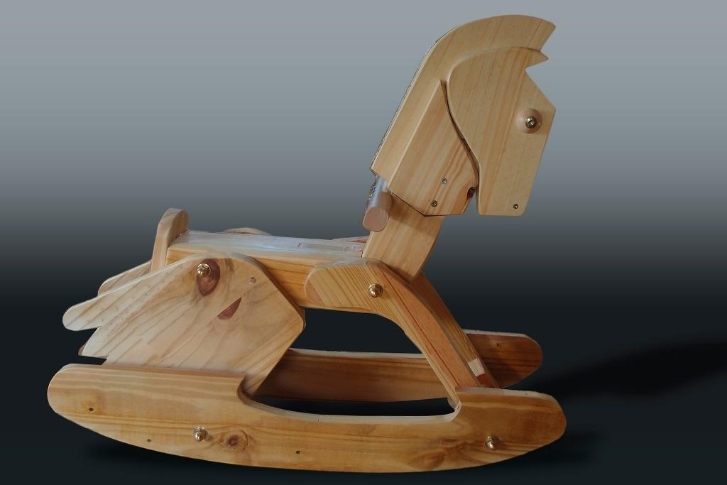 youkoul l le cheval bascule par jeplor sur l 39 air du bois. Black Bedroom Furniture Sets. Home Design Ideas
