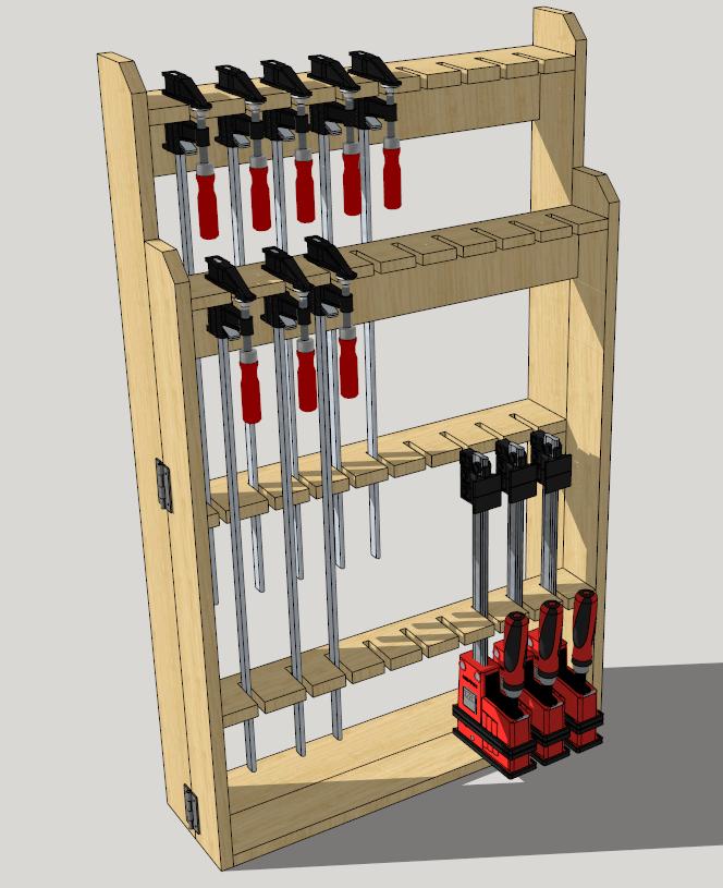 Plan rack a serre en bois de palette par l atelier vosgien sur l 39 air du - Serre en bois de palette ...