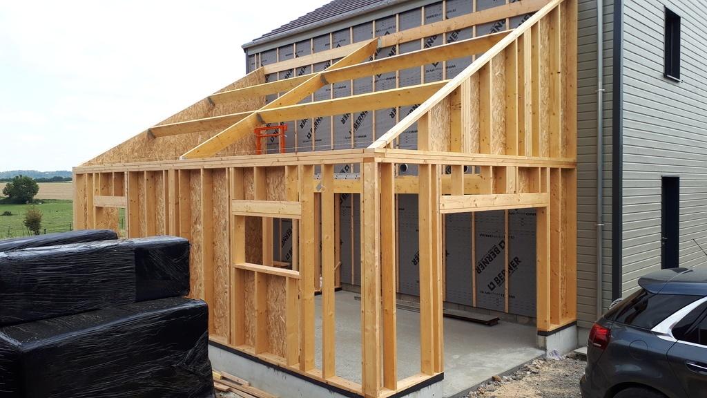 Pas A Pas Construction Garage Atelier En Ossature Bois Par Willy1009 Sur L Air Du Bois