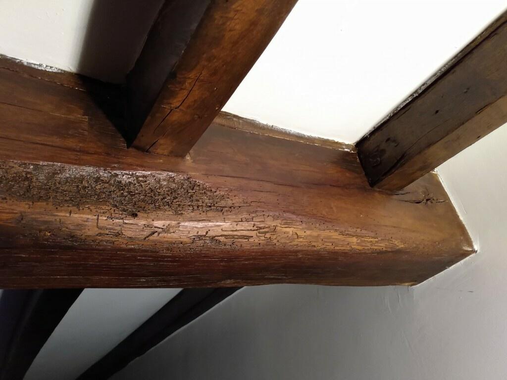 Peindre Poutres Anciennes Blanc question] peinture poutres anciennes par jul sur l'air du bois