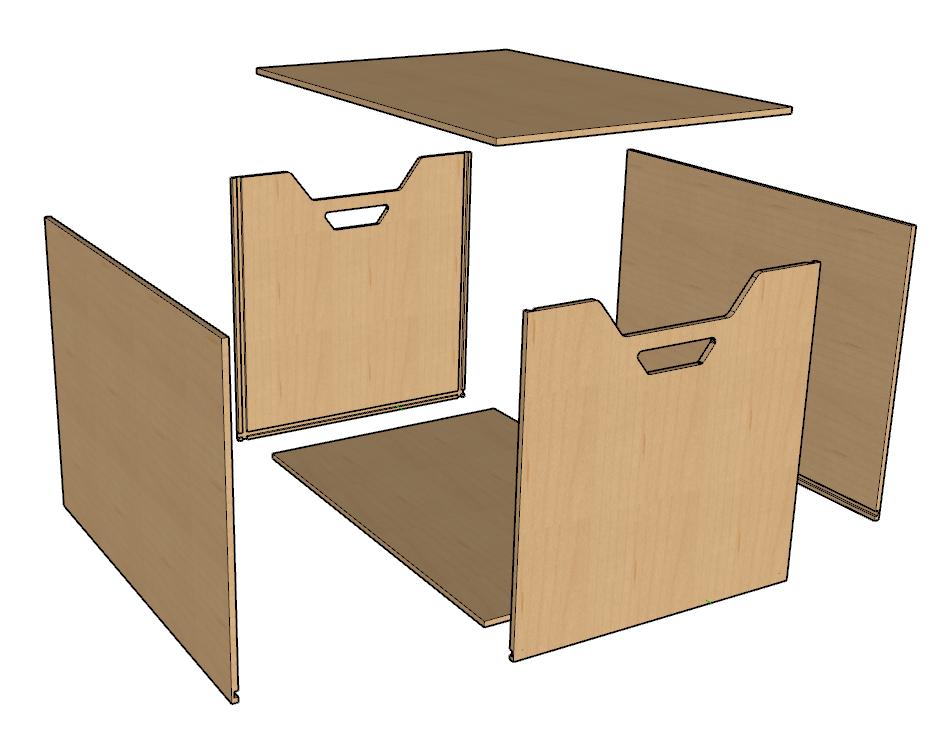 fabriquer des meubles en carton