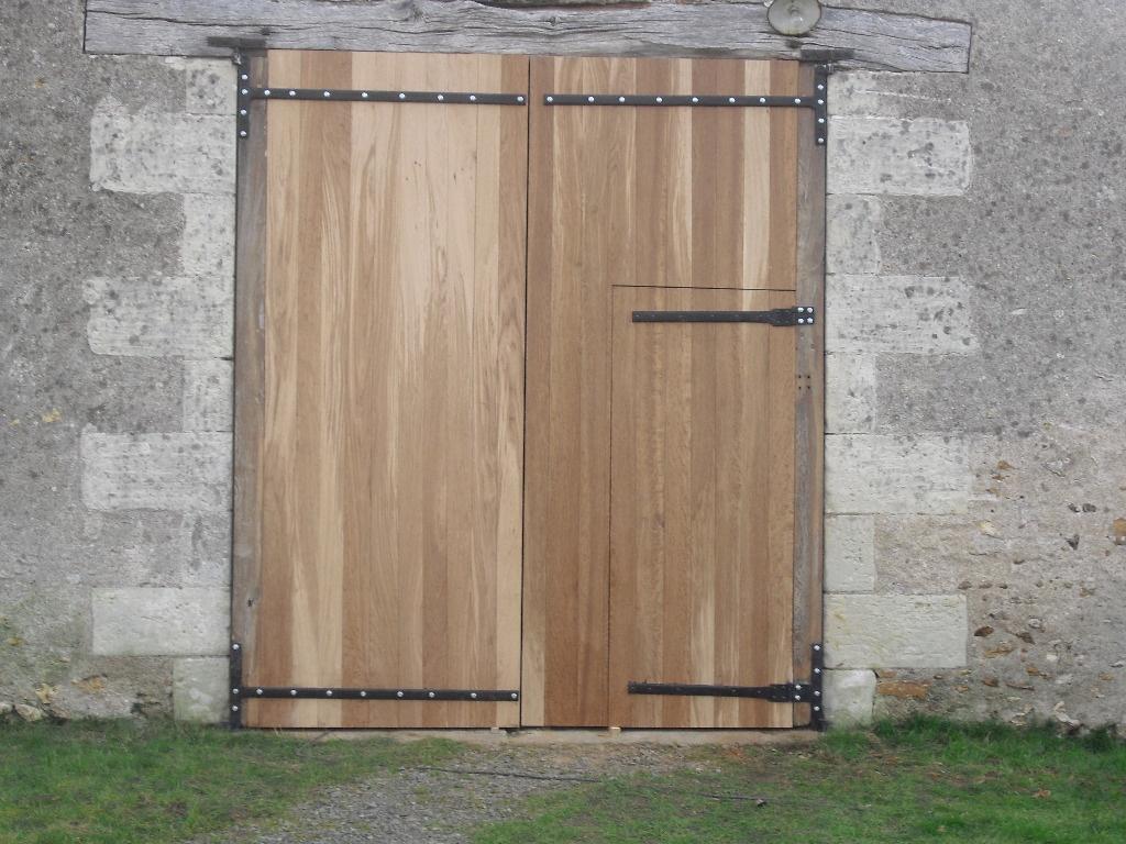 porte de grange par toutenbois37 sur l 39 air du bois