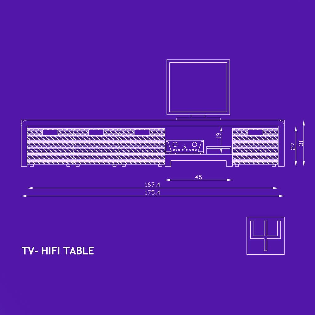 Meuble Tv Et Hifi Par Philippe Gelard Sur L Air Du Bois # Meuble Tv Ampli