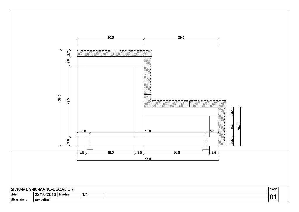Plan Escalier Pour Terrasse Par Pierrotonthemoon Sur LAir Du Bois