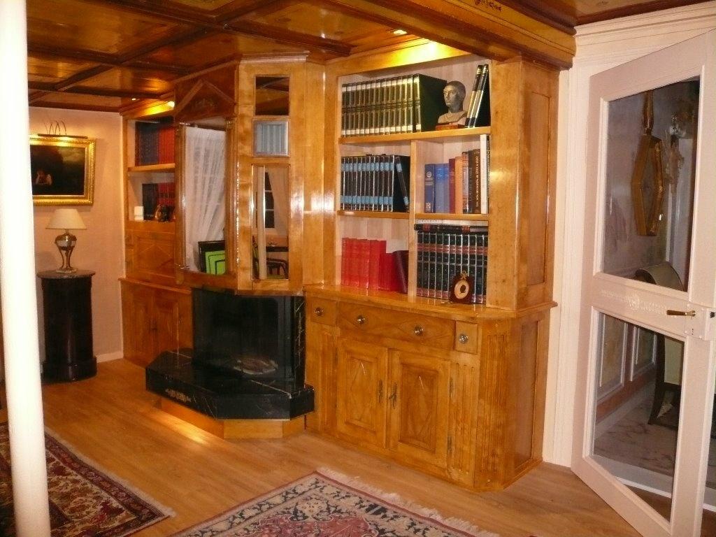 biblioth que pour meubler le coin chemin e par. Black Bedroom Furniture Sets. Home Design Ideas