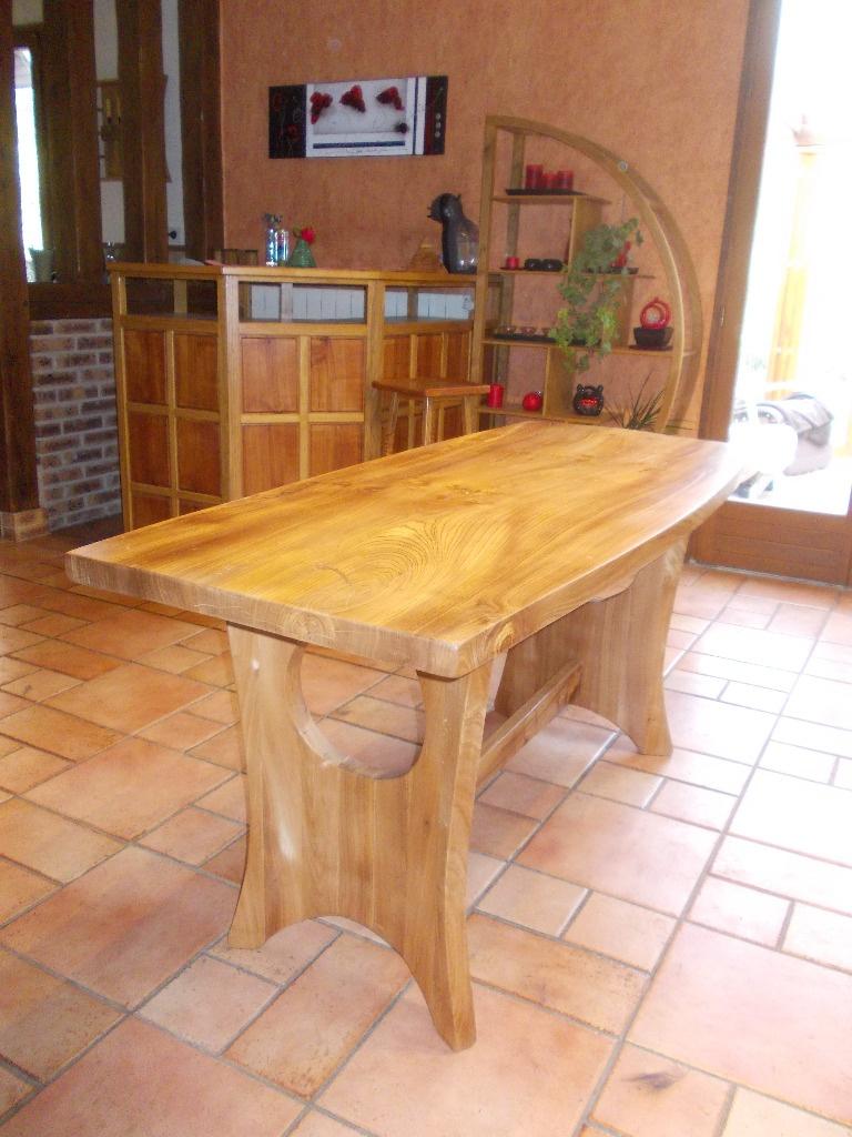 Table de s jour par siloe sur l 39 air du bois for Table pliante largeur 85