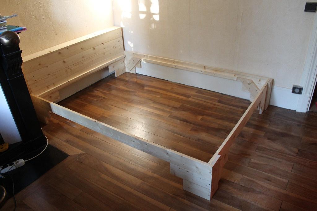 lit fa on enzo mari par alban sur l 39 air du bois. Black Bedroom Furniture Sets. Home Design Ideas