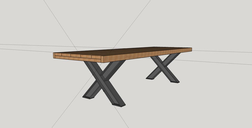 6e3b35339649d Pas à pas  Fabrication d une table de salle à manger en chêne avec ...