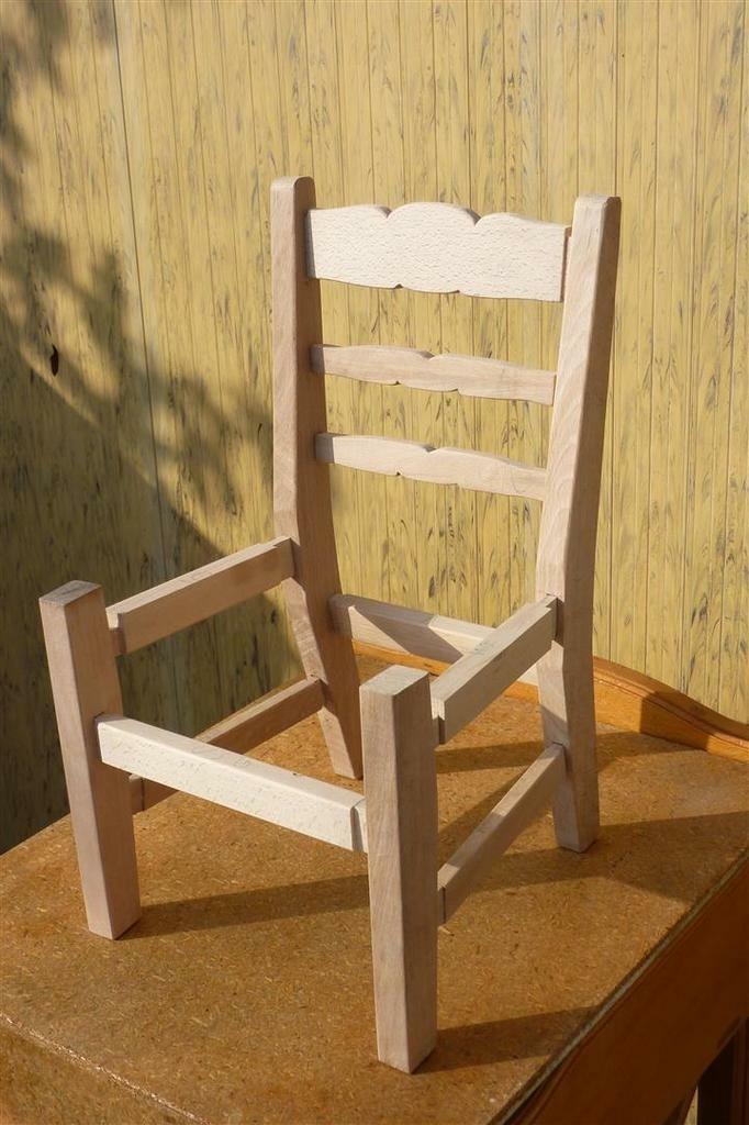 Chaise en ch ne massif par besusbois60 sur l 39 air du bois for Chaise vibrante