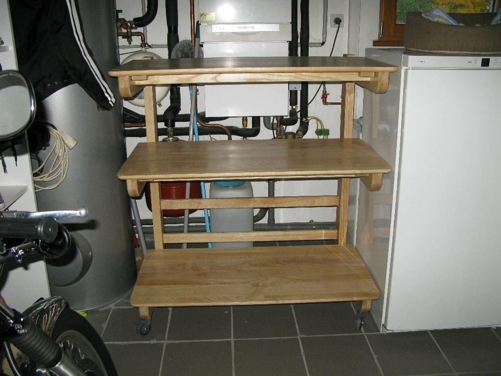 servante pour la garage par jif sur l 39 air du bois. Black Bedroom Furniture Sets. Home Design Ideas
