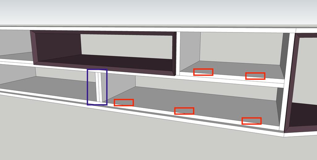 Plan meuble tv chester 2 par schijfke sur l 39 air du bois for Assemblage meuble mdf
