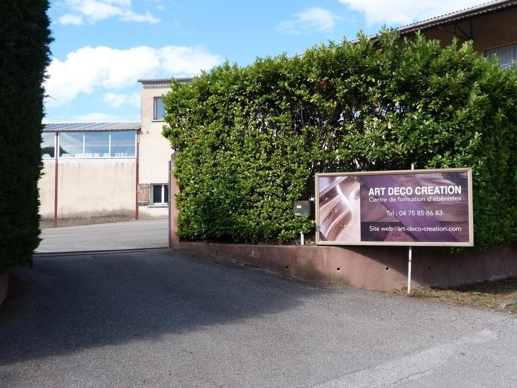 Formation Menuiserie D Art visite du centre de formation art déco création par boris
