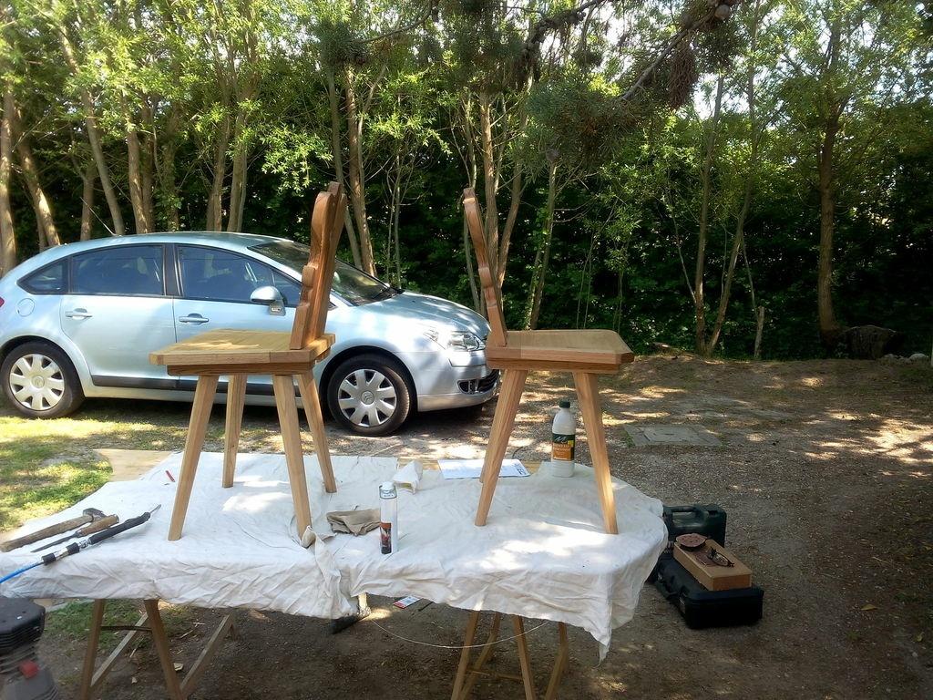 Chaise alsacienne par hedjour sur l 39 air du bois - Chaise alsacienne ancienne ...