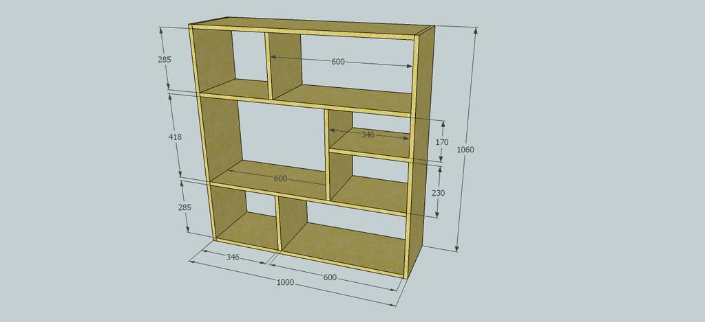 Plan tag re bois hx72 jornalagora for Construire une etagere en bois