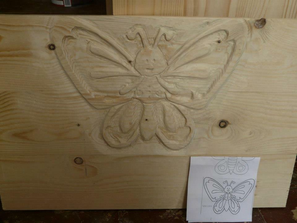 commode table langer par atelierfratresebaste sur l 39 air du bois. Black Bedroom Furniture Sets. Home Design Ideas