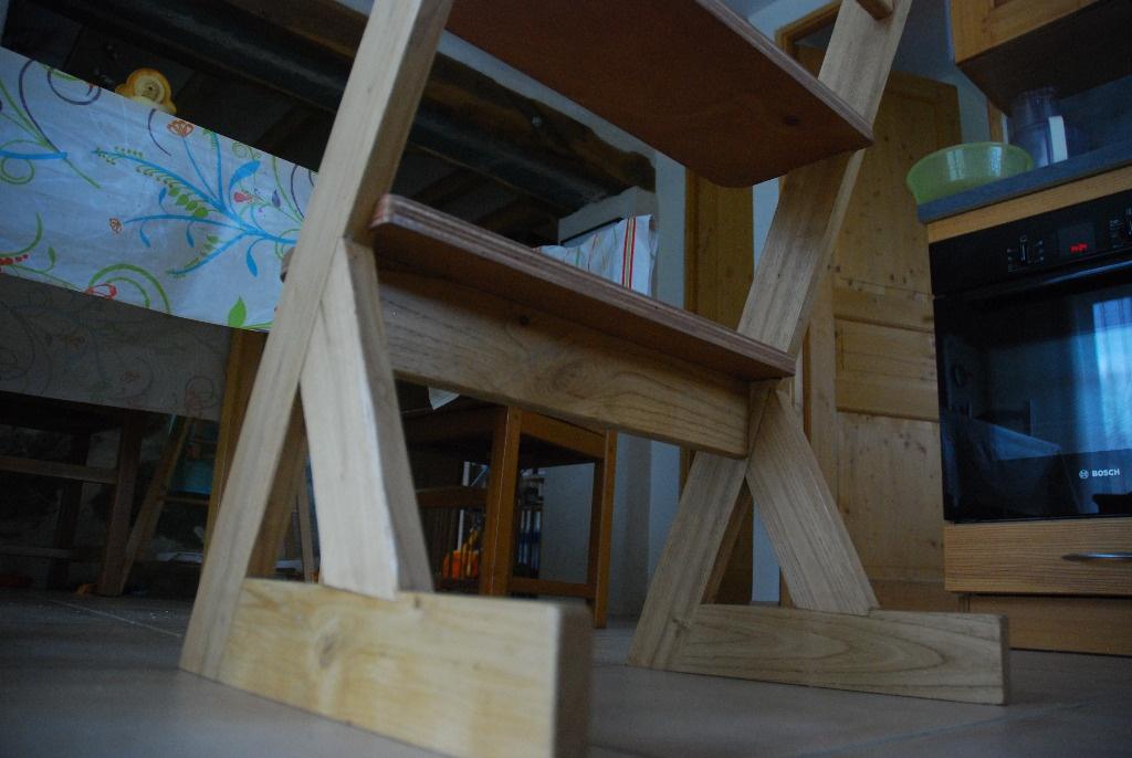 chaise haute pour enfant par niouniou sur l 39 air du bois. Black Bedroom Furniture Sets. Home Design Ideas