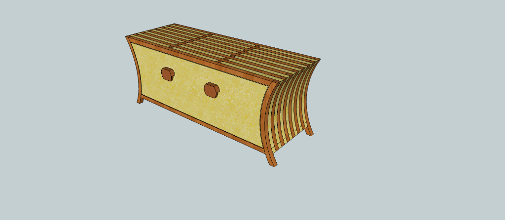 plan banc coffre chaussures par cereus45 sur l 39 air du bois. Black Bedroom Furniture Sets. Home Design Ideas