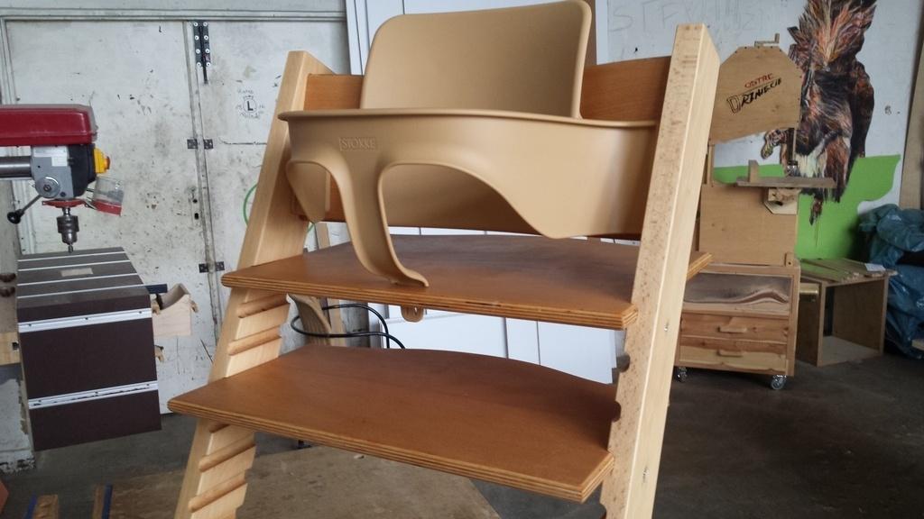 chaise pour bb dinspiration norvgienne par franois chalopin sur lair du bois - Chaise Norvegienne