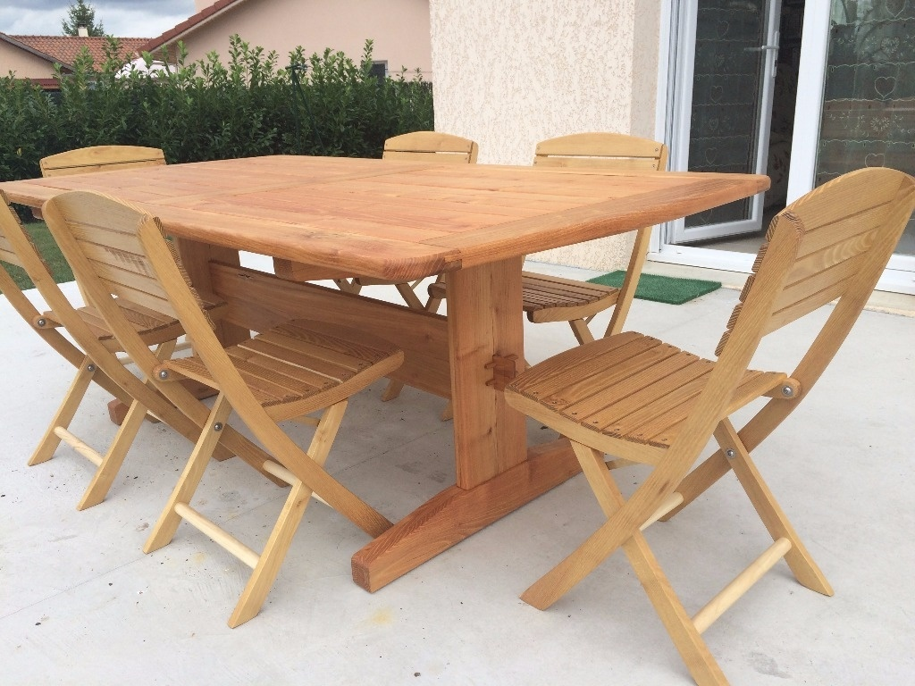 Table extérieur par Fabio38 sur L\'Air du Bois