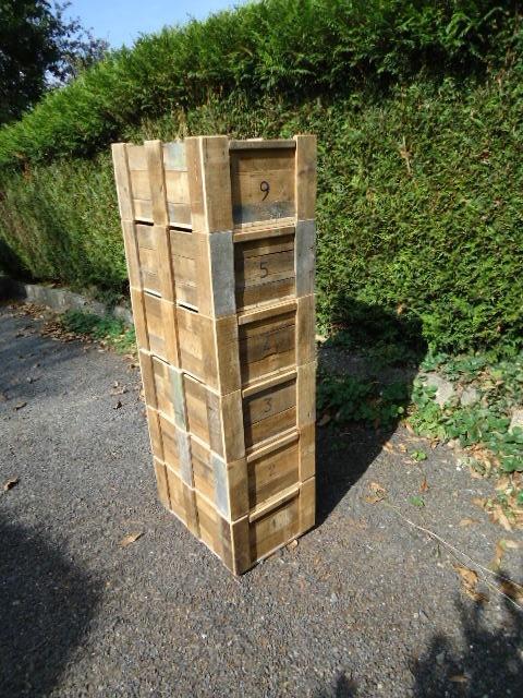 caisses de d m nagement par didier sur l 39 air du bois. Black Bedroom Furniture Sets. Home Design Ideas