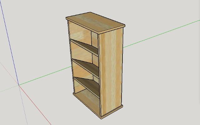 Plan meuble chaussures par peiot sur l 39 air du bois - Fabriquer une etagere a chaussures ...