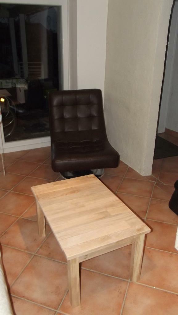 Une petite table de salon par lefafadesbois sur l 39 air du bois - Petite table salon ...