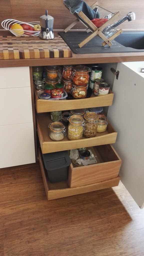 tiroirs de cuisine a l anglaise par