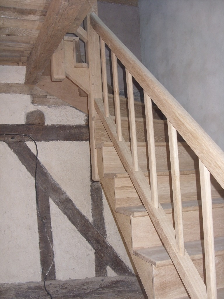 elegant beautiful with teinter un escalier en bois. Black Bedroom Furniture Sets. Home Design Ideas