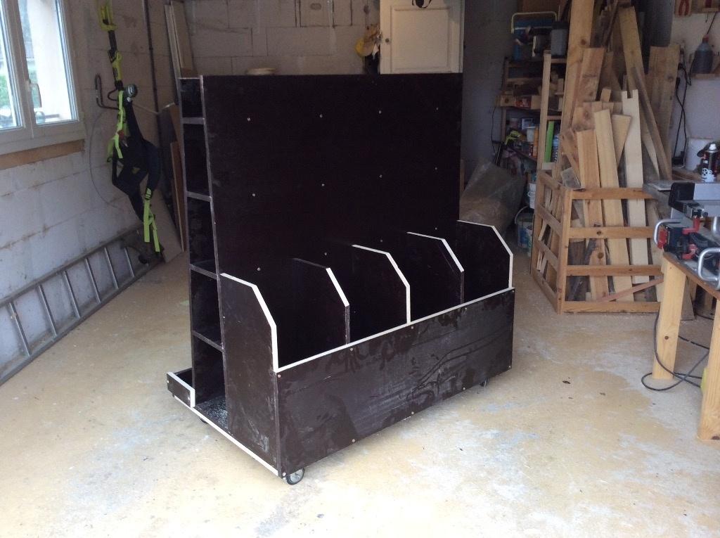 rangement bois par davidpuech sur l 39 air du bois. Black Bedroom Furniture Sets. Home Design Ideas