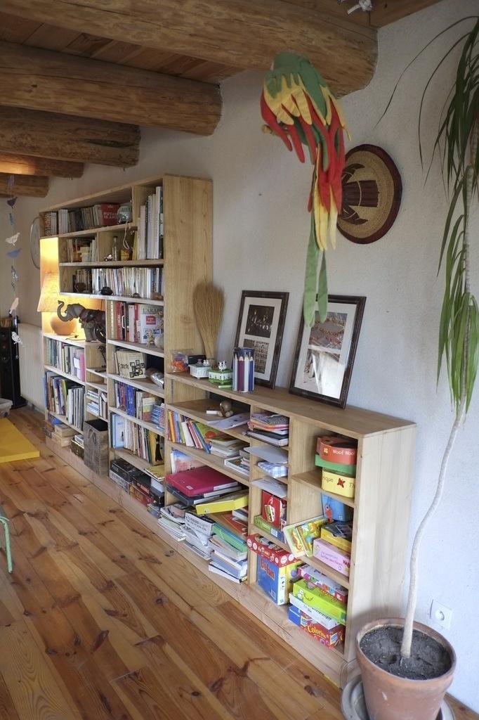 Salon En Bois : Bibliothèque en ch taignier par oliverte sur l air du bois