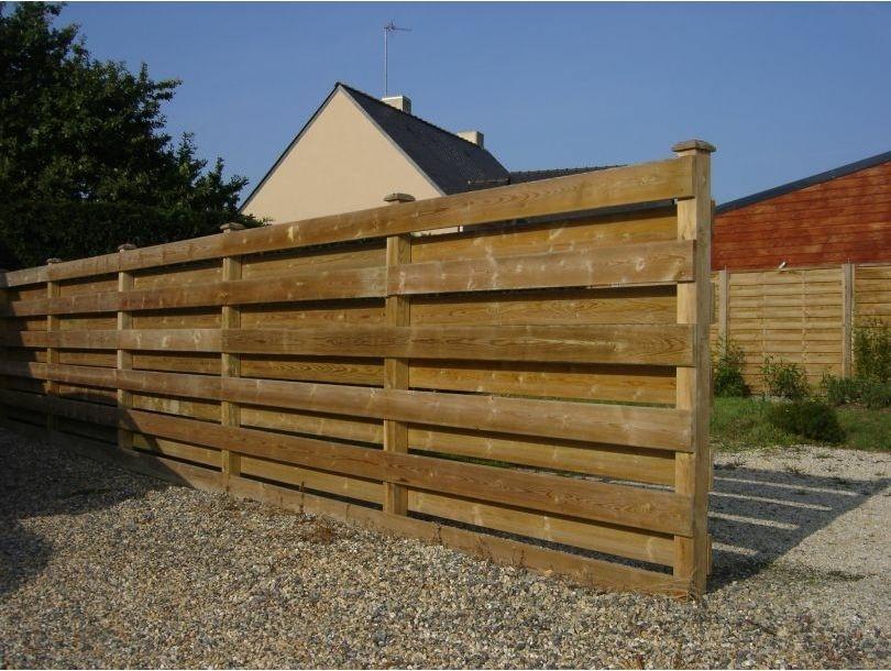 barrière pour terrasse en bois